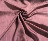 Mauve - Hand Dyed Silk/Cotton Sateen