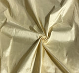 Light Gold - Silk Dupioni Fabric