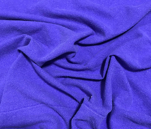 Violet Purple - Hand Dyed Silk Noil