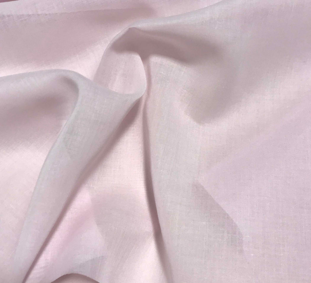 Spechler-Vogel Fabric - Pink Imperial Voile Poly/Cotton