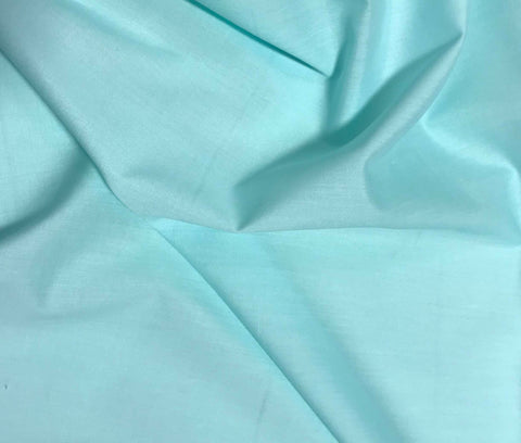 Spechler-Vogel Fabric - Mint/Aqua Imperial Batiste Poly/Cotton