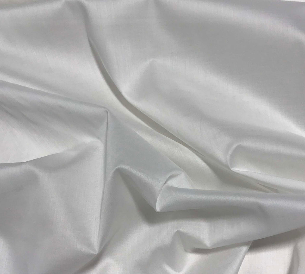 Spechler-Vogel Fabric - White Pima Nelona Cotton Swiss Batiste
