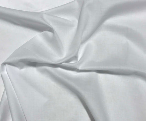 Spechler-Vogel Fabric - White Pima Cotton Swiss Batiste