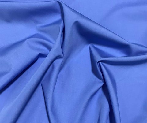 Spechler-Vogel Fabric - Pima Cotton Broadcloth - Cobalt Blue