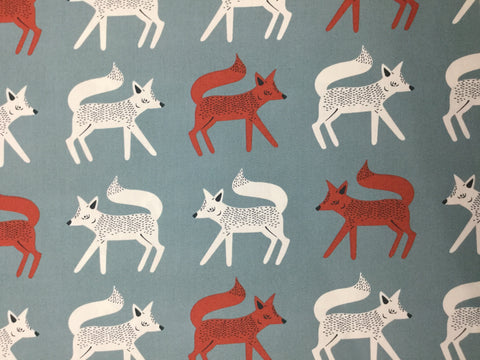 Sneaky Little Foxes - Capsules Campsite for Art Gallery Fabrics - Premium Cotton