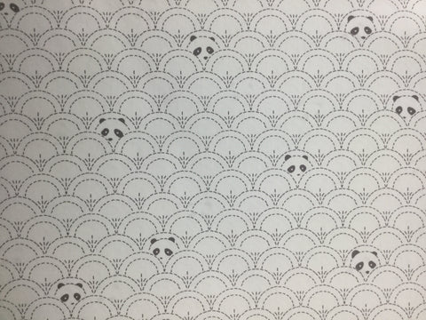 Hidden Panda - Cottonbud - Pandalicious by Katarina Roccella for Art Gallery Fabrics - Premium Cotton