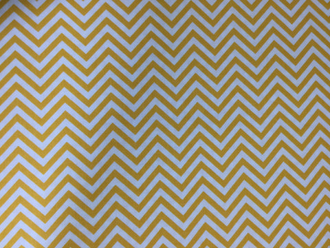 Robert Kaufman - Remix Chevron Sunshine - Cotton Quilting Fabric