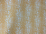 Westminster - Vicki Payne - Golden Yellow Giraffe Spots - Cotton Home Dec Fabric