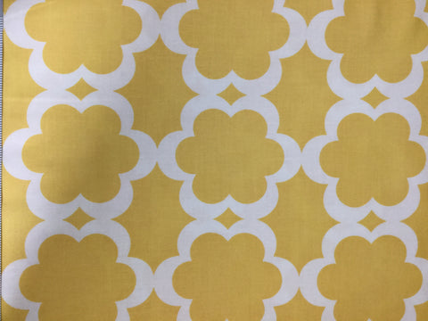 Taza Tarika - Yellow - Dana Designs for Free Spirit - Cotton Quilting Fabric