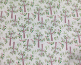 Green Whimsical Trees - David Textiles - Cotton Flannel Fabric