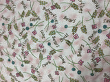 Birds Bees Bears Butterflies on Pink - Moda - Cotton Fabric