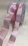 Baby Pink Wired Taffeta Ribbon - Made in France (3 Widths to choose from)