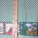 Country Gingham Check with Border - Moda - Cotton Fabric