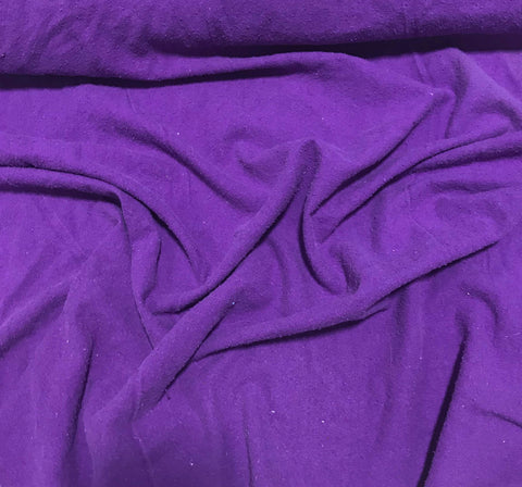 Purple - Hand Dyed Silk Noil