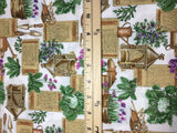 Gardening Vegetables - Robert Kaufman - Cotton Fabric