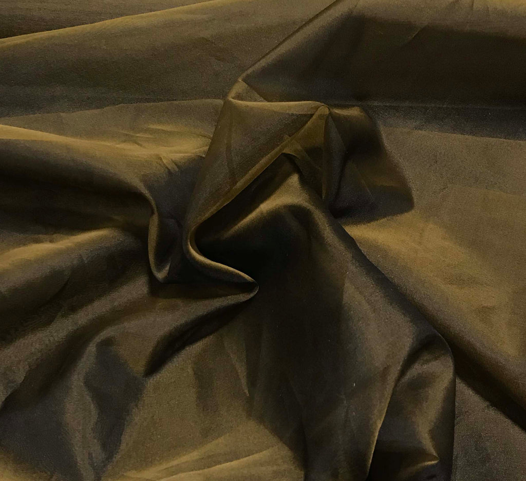 Bronze - Silk Organza Fabric