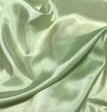 Light Green - 8mm Silk Habotai