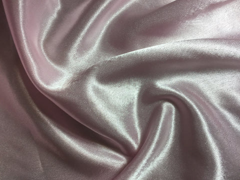 Baby Pink - Faux Silk Charmeuse Satin Fabric