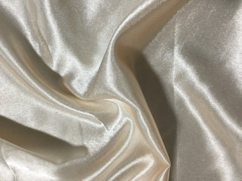 Peach - Faux Silk Charmeuse Satin Fabric