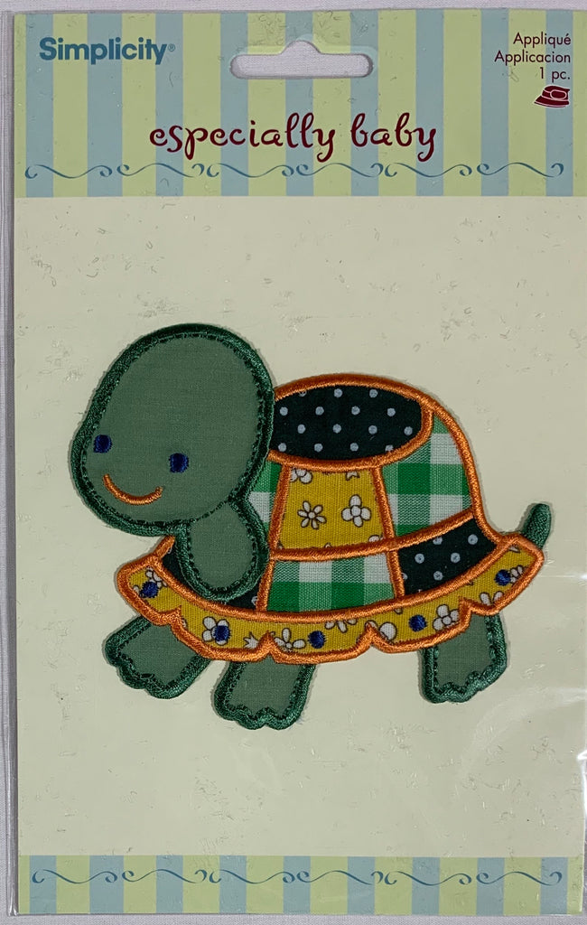 Patchwork Turtle - Iron-On Applique by Wrights
