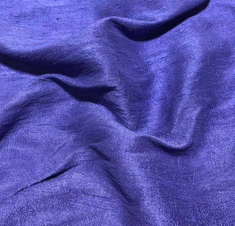 Hand Dyed Lavender - Silk Dupioni Fabric