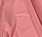 Bubblegum Pink 100% Cotton Chambray Fabric