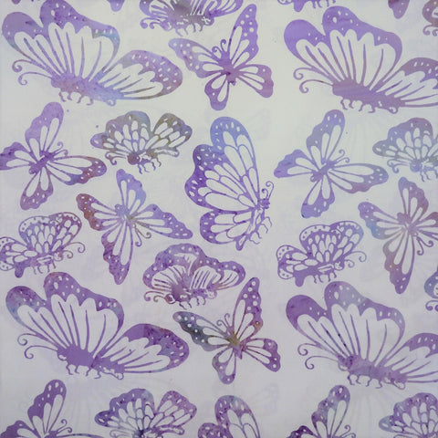 Jelly Frost Butterflies - Spring Awakening - Batik by Mirah Cotton Fabric