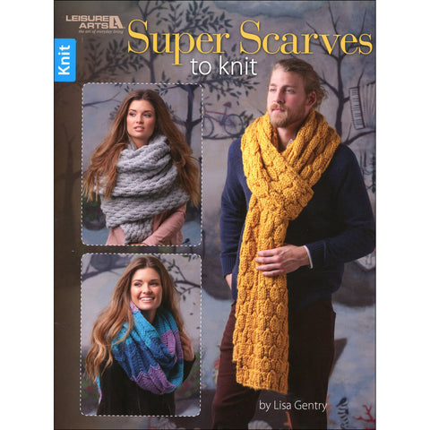 Super Scarves | Knitting | Leisure Arts