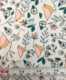 Lovebirds Celeste - Love Story by Maureen Cracknell for Art Gallery Fabrics - Premium Cotton