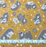Mama & Me Bears - Camelot Fabrics - Cotton Quilting Fabric