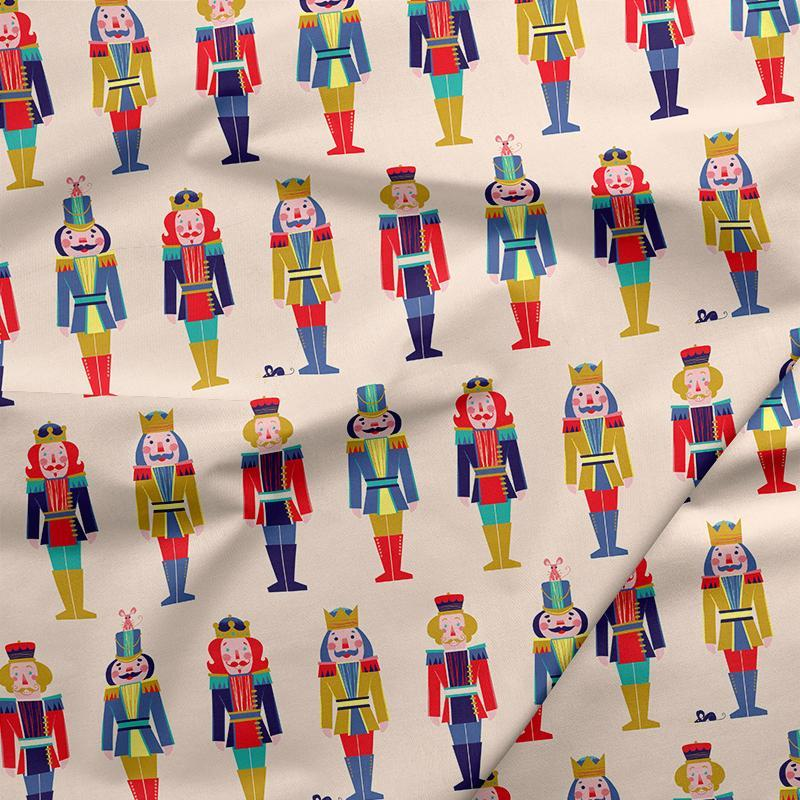 Nutcracker March - Night of the Nutcracker - Paintbrush Studio 100% Cotton Fabric