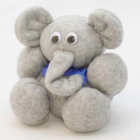 "4"" Potbelly Elephant Ready-to-Sew Kit"
