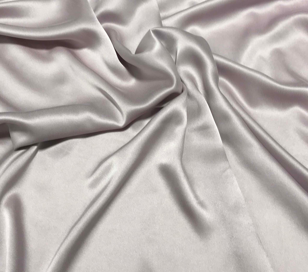 Pale Lavender - Sandwashed Silk Charmeuse