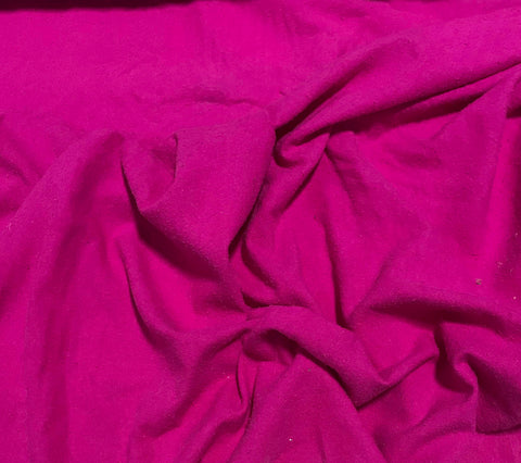 Pink Orchid - Hand Dyed Silk Noil