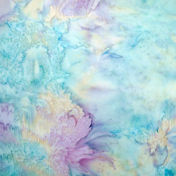 Pure Shores - Jar Pastel Batik - Batik by Mirah Cotton Fabric