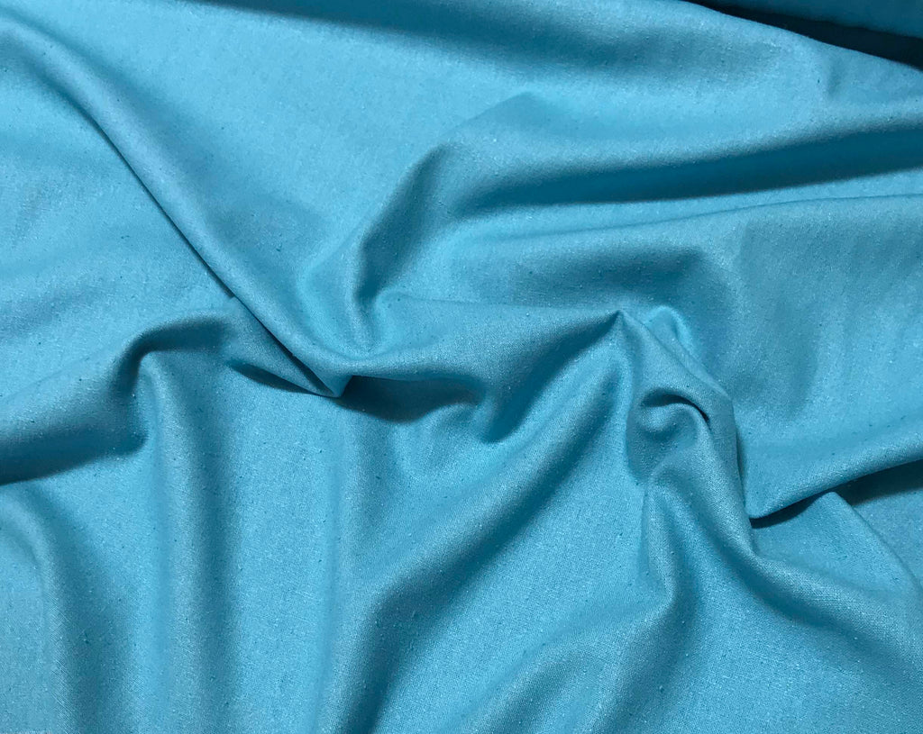 Robin's Egg Blue - Silk Noil