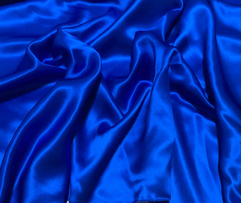 Royal Blue - 19mm Silk Charmeuse