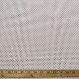 Swiss Dot On White- Red - Riley Blake Cotton Fabric
