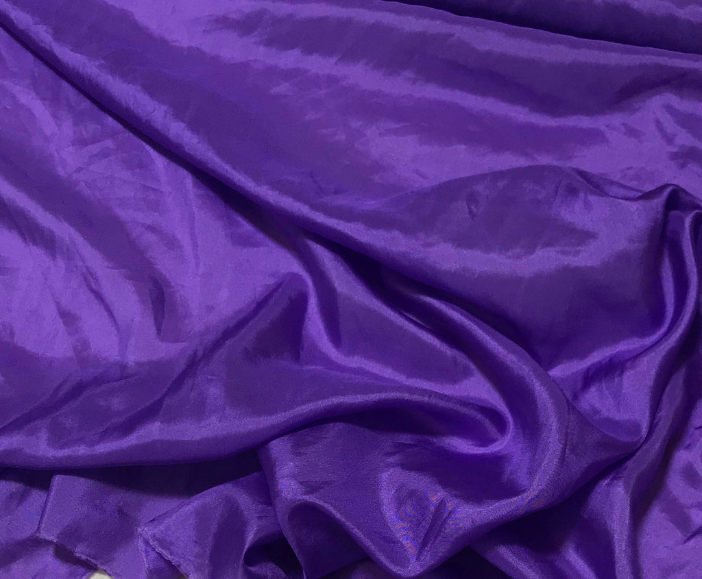 Violet Purple - 8mm Silk Habotai