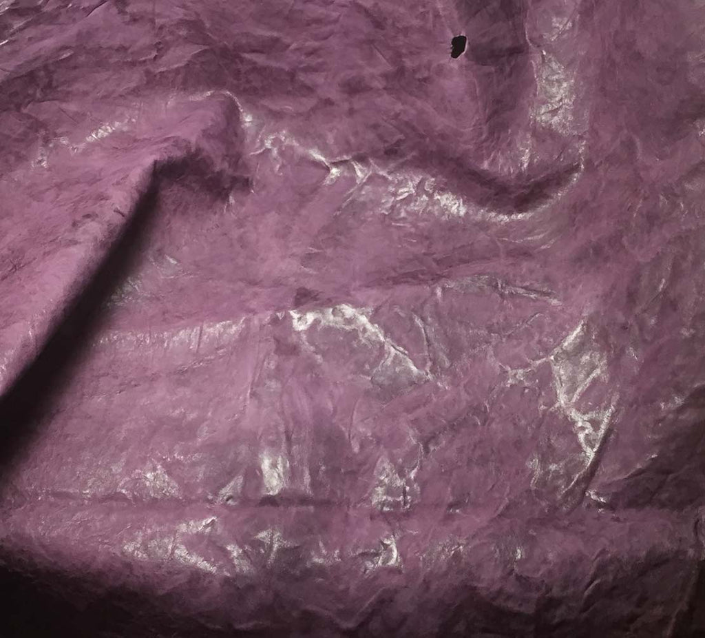 Amethyst - Goatskin Leather