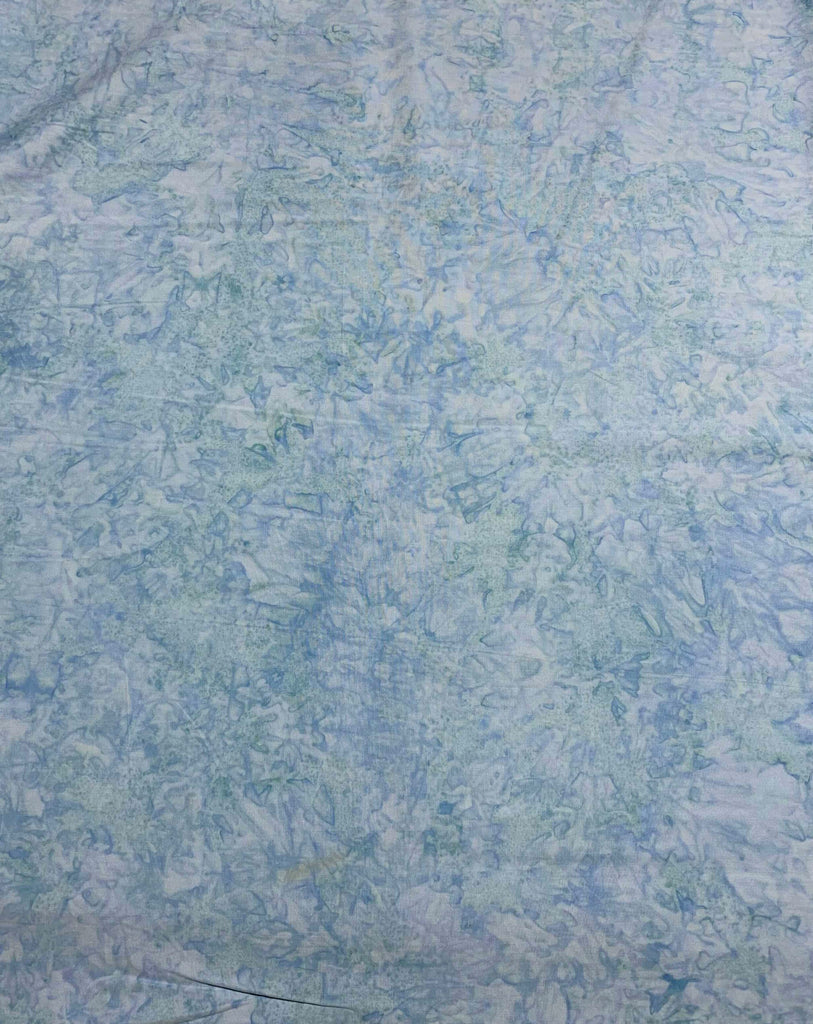 Baby Blue Shadows - Banyan Batik Tone on Tone 100% Cotton Fabric