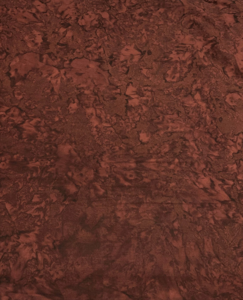 Mahogany Shadows - Banyan Batik Tone on Tone 100% Cotton Fabric