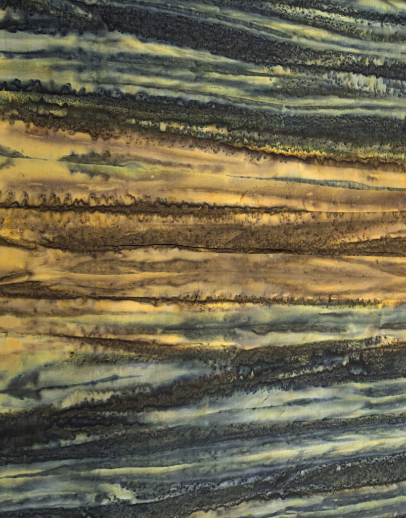 Mauve Rock Stripes - Stardust - Banyan Batiks Fabric