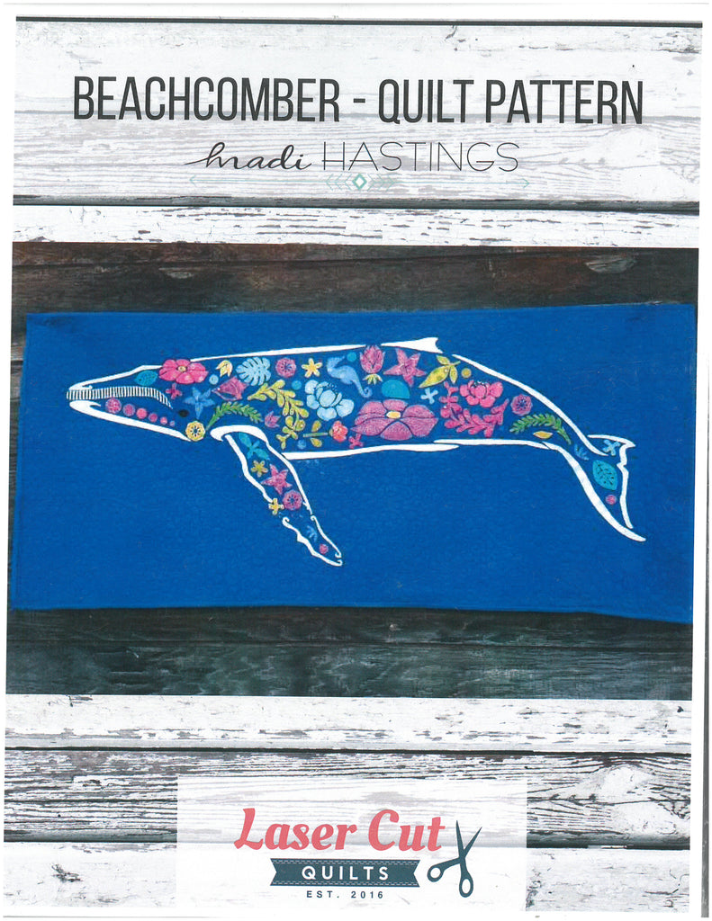Beachcomber Quilt Pattern-Laser Cut Quilts