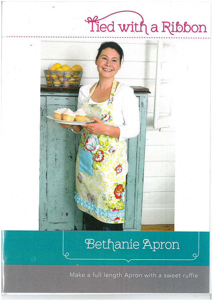 Bethanie Apron Pattern - Tied With a Ribbon