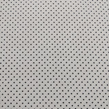 Swiss Dot on White - Black - Riley Blake Cotton Fabric