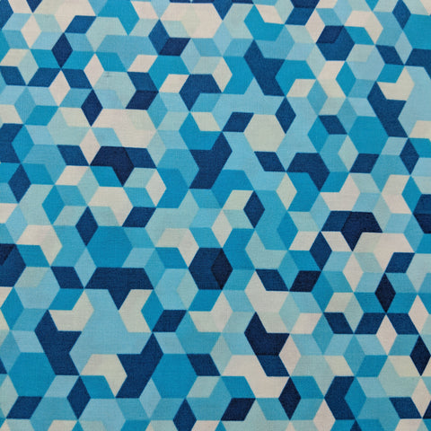 Aura - Mau Loa Seabed - Art Gallery Fabrics -Premium Cotton Fabric