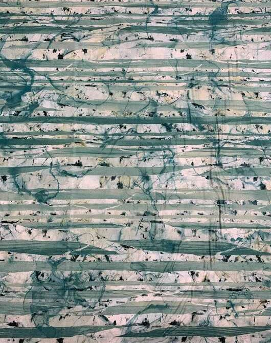 Blue Multi Birch Trees - Whispering Pines - by Melanie Samra for Northcott Cotton Fabric
