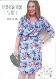 Bowerbird Shift Neck Dress -Sew To Grow
