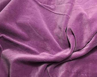 Boysenberry - Hand Dyed Cotton Velveteen